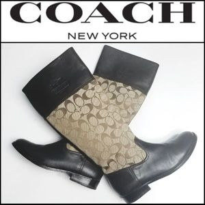 Coach Shoes - COACH Riding Boots - Brown